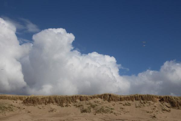 Texel strand, zee, lucht, duinen © 2014 www.photo-coco.com